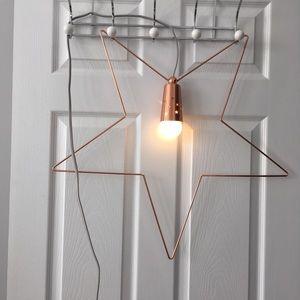 IKEA star pendant light